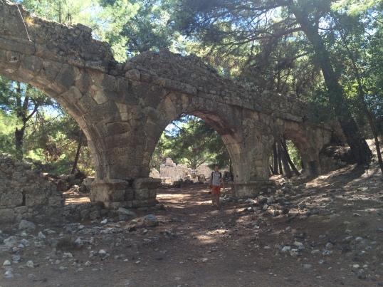 Античный город Фазелис. Турция 2014